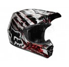 FOX-11-V3 Riot Helmet_Blk/Red