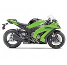 FX-Kawasaki Lower Sport Bike Fairing Graphics Kit