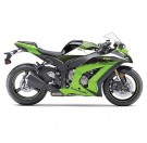 FX-Kawasaki Upper Fairing Graphics Kit