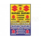 FX-Suzuki Generic Sticker Sheet