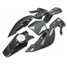 KLX110 Body Plastic kit-Carbon Fiber