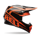 BELL-Moto 9 Tracker Helmet_Black/Orange