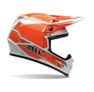 BELL-MX-9 Blockade Helmet_Orange