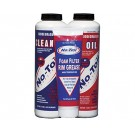 No Toil-3 Pack Air Filter Oil, Cleaner & Grease