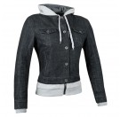 Speed and Strength Women's Fast Times Denim Jacket_Black/Grey