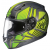 HJC CL-17 Redline Frameless Dual Lens Full-Face Snow Helmet